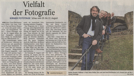 Allgemeine Zeitung vom 30.07.2010