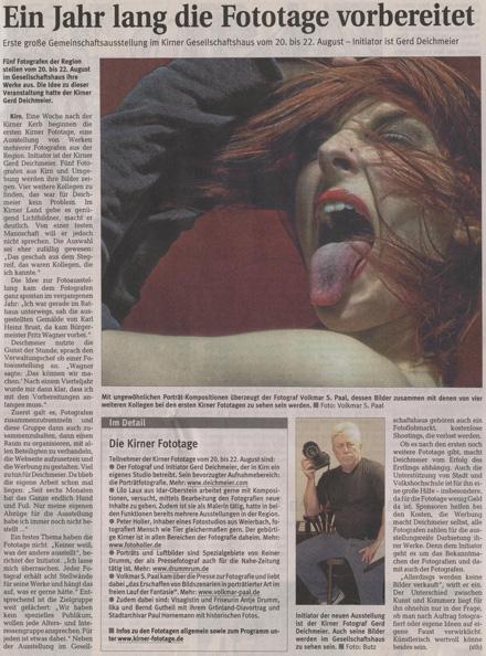 Kirner Zeitung vom 05.08.2010