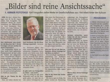 Allgemeine Zeitung vom 19.08.2010