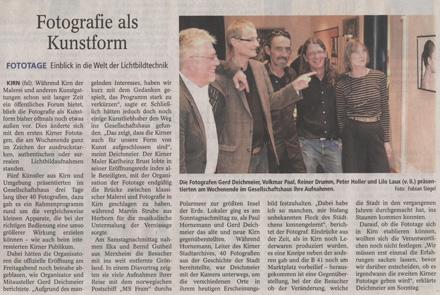 Allgemeine Zeitung vom 23.08.2010