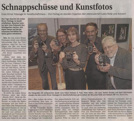 Kirner Zeitung vom 23.08.2010